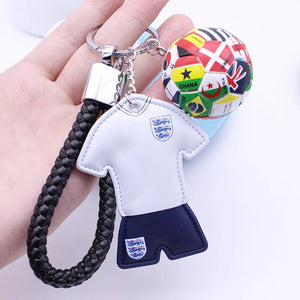 Soccer Team Shirt Key Chains
