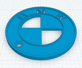 BMW Circle Keychain