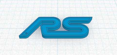 Focus RS Keychain