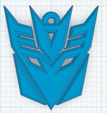 Decepticon Badge Keychain