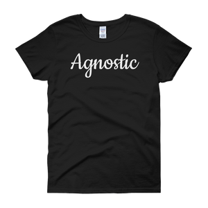 Women's Agnostic T-Shirt