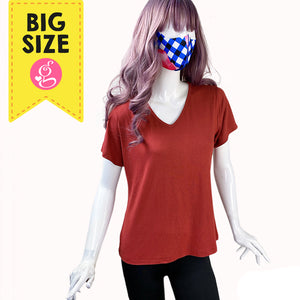 Easy Fit T-shirt V Neck