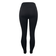 High Waist Leggings with Double White Side Stripe