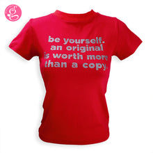 Round Neck Crew Neck T shirt Be Yourself