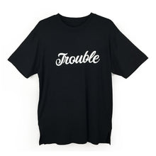 "Couple Tee His & Hers Shirts with ""Trouble Makers"" Print"