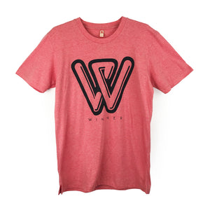 "Boyfriend / Unisex Tee With ""Winner"" Print"