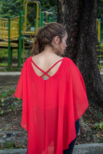 Mermaid Cape Blouson Blouse