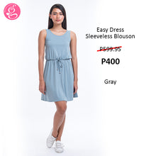 Easy Dress Sleeveless Blouson
