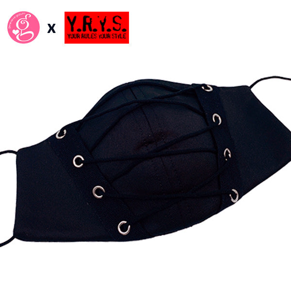 CORSET MASK with filter pocket by YRYS (Adult size and Petite for small face)