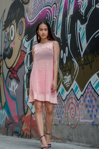 Peach Perfect Shift Dress