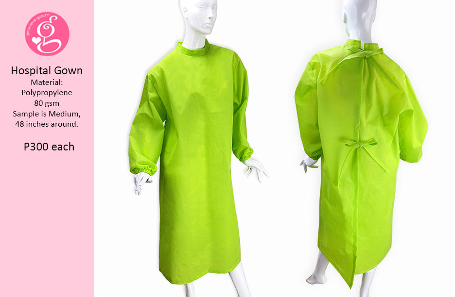 PPE Hospital Gown - Polypropelene
