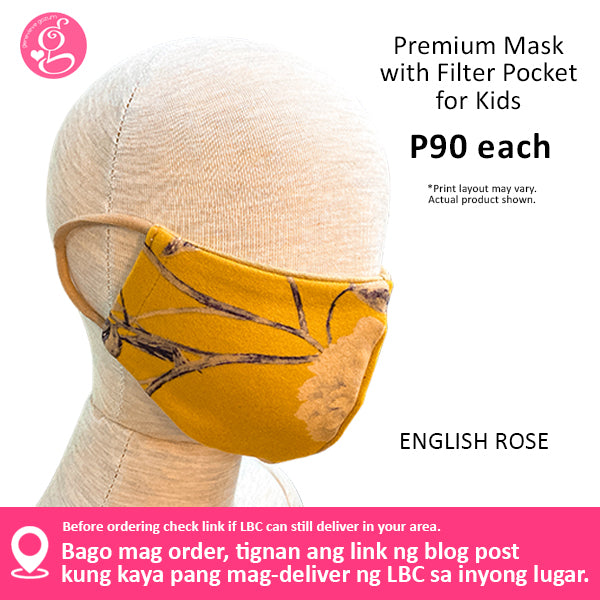 Premium Printed Mask for KIDS