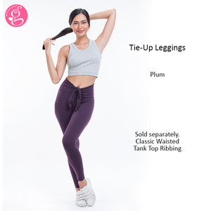 Y Workout Tie Up Waist Leggings