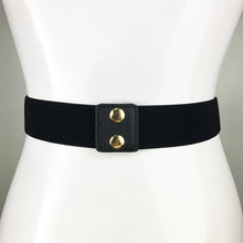 Lion Buckle Corset Elastic Belt