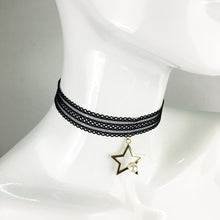 Choker with Star Pendant