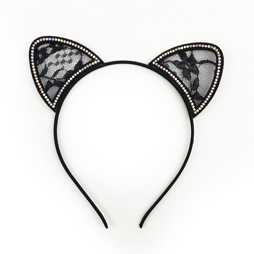 Lace Cat Headband