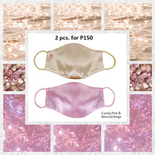 Luxury Comfort Satin REVERSIBLE with filter pocket 2 pcs for P150