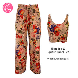 Ellen Top and Square Pants Set