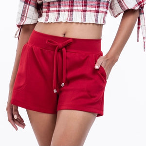 Slimming Shorts with side pockets