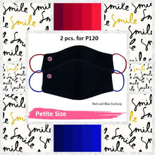 BLACK SERIES PETITE CLASSIC PLAIN NEOPRENE WITH FILTER POCKET UNISEX (2 pcs for P120)