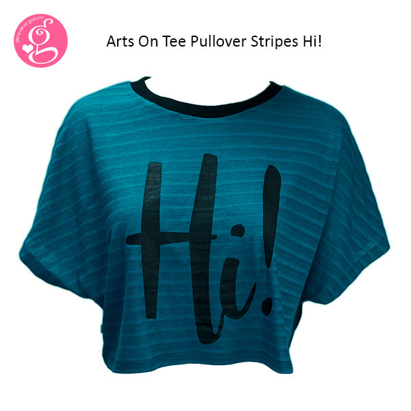 Pullover Top With Print