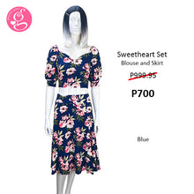 Great Escape Blouse & Skirt Set Sweet Magnolia