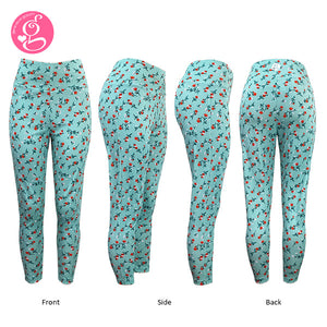 Calico Garden High Waist Slimming Neoprene Leggings