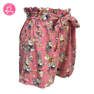 Paper Bag Shorts Printed