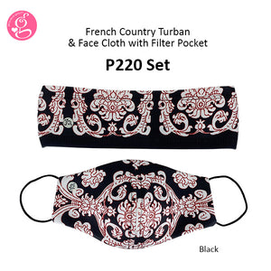 French Country Turban Set (with different sets)