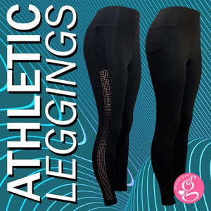 Y Workout A Little Skin On the Side Athletic Leggings High Waist
