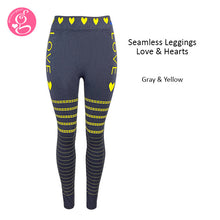 Seamless Leggings Love and Hearts (promo P300)