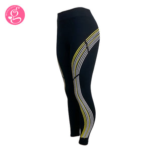 Seamless Leggings with Side Stripes