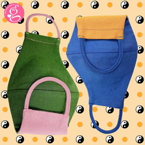 Cotton Solid Colors Washable Filter Pocket Face Cloth - Unisex, Comfortable & Reusable - 2 for P120