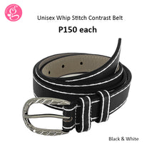 Unisex Whipstitch Contrast Belt P150 each
