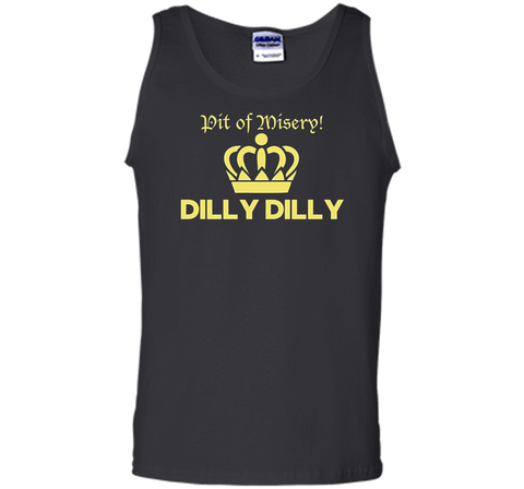 Bud Light Pit of Misery Dilly Dilly T Shirt Black / Small Tank Top - PresentTees
