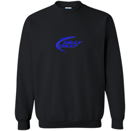 Bud Ligth DILLY DILLY Shirt Black / Small Crewneck Pullover Sweatshirt 8 oz - PresentTees