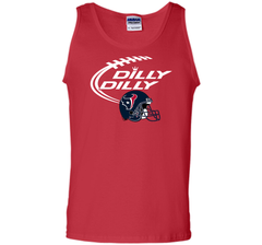 DILLY DILLY Houston Texans NFL Team Logo Tank Top - PresentTees