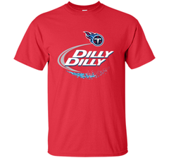 Tennessee Titans Dilly Dilly T-Shirt NFL Football Gift for Fans Custom Ultra Cotton Tshirt - PresentTees