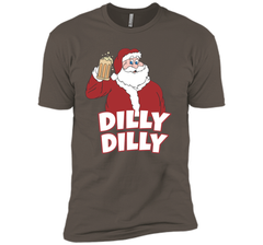 Christmas Santa Claus Dilly Dilly Shirt Gift 4 Beer T Shirt Next Level Premium Short Sleeve Tee - PresentTees