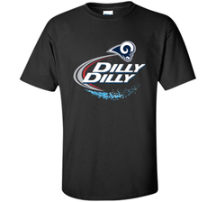 Los Angeles Rams Dilly Dilly Bud Light T-Shirt LAR NFL Football Team Gift for Fans Custom Ultra Cotton Tshirt - PresentTees