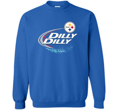 Pittsburgh Steelers Dilly Dilly T-Shirt NFL Football Gift Fans Crewneck Pullover Sweatshirt 8 oz - PresentTees