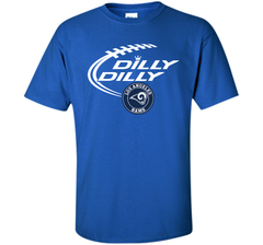 DILLY DILLY  Los Angeles Rams shirt Custom Ultra Cotton Tshirt - PresentTees