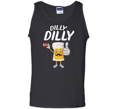 Bud Light Dilly Dilly Funny Football Beer T Shirt Tank Top - PresentTees