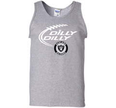 DILLY DILLY Oakland Raiders shirt Tank Top - PresentTees