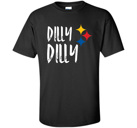 Dilly Dilly Pit of Misery Beer Roethlisberger Beer Football Pittsburgh Steelers Sweater Black / Small Custom Ultra Cotton Tshirt - PresentTees