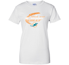 Miami Dolphins MIA Dilly Dilly Bud Light T Shirt NFL Football Gift for Fans Ladies Custom - PresentTees
