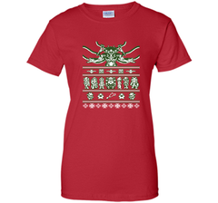 Chrono Christmas ugly sweater T-Shirt Ladies Custom - PresentTees