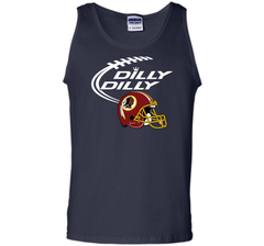 DILLY DILLY Washington Redskins NFL Team Logo Tank Top - PresentTees