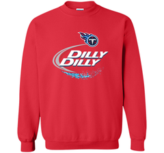 Tennessee Titans Dilly Dilly T-Shirt NFL Football Gift for Fans Crewneck Pullover Sweatshirt 8 oz - PresentTees