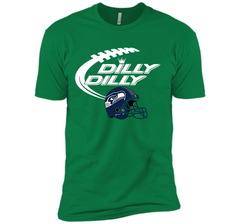 Seattle Seahawks Dilly Dilly Bud Light T-Shirt SEA NFL Football Gift for Fans Next Level Premium Short Sleeve Tee - PresentTees